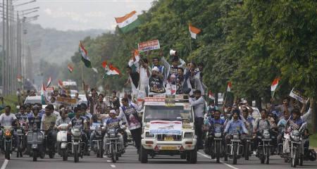 India Rising for jan lokpal