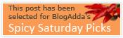 Blog adda Spicy saturday picks