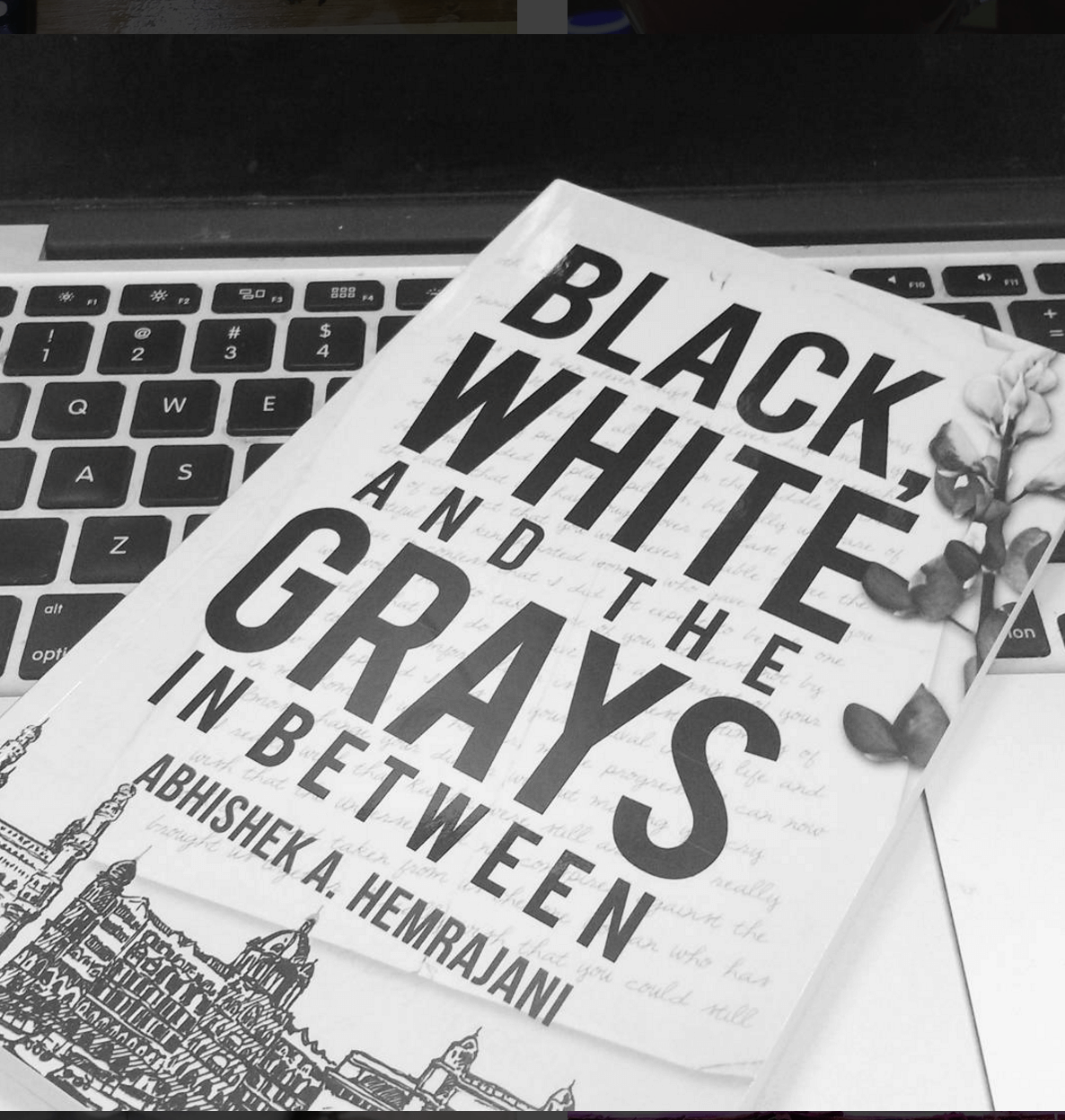 Black white and the grays in between , book review